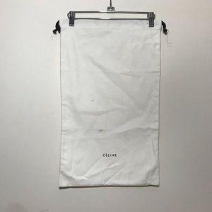 """CELINE dust bag pull strings  13"""" x 21 1/2"""""""